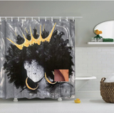 queen royalty crown afrocentric home decor african shower curtains wall art and style pro black household items decorations american bedding cheap cute affordable feminine urban womens woman women ladies apartment home apt house ideas gift christmas kwanzaa birthday anniversary warming dorm help princess royal afro natural hair juniors junior teens tweens tween teen