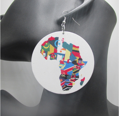 africa earrings | africa shaped earrings | map of africa earrings | natural hair earrings | afrocentric | afrocentric earrings | afrocentric fashion | afrocentric accessories | afrocentric jewelry | natural hair jewelry | accessory | accessories | jewelry | ear rings | earrings