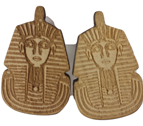 king tut earrings | egyptian jewelry | king tutankhamun | king tut earrings for sale | tutankhamun jewelry | king tut jewelry | king tut pendant