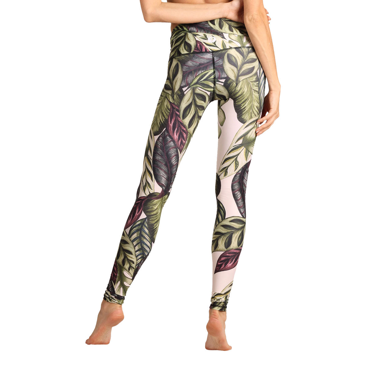 YOGA DEMOCRACY Leaf It To Me Eco Yoga Leggings