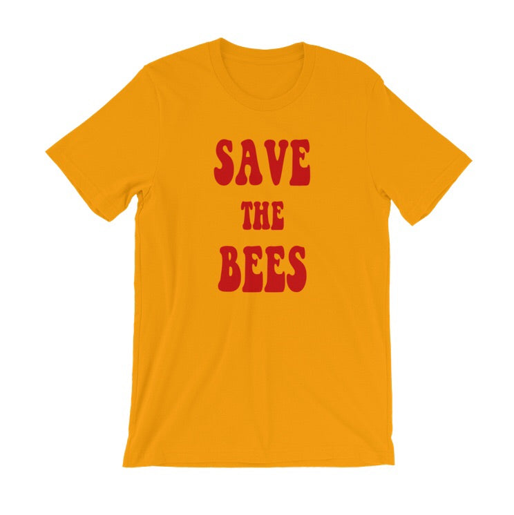TEES FOR BEES Retro Save The Bees Tee