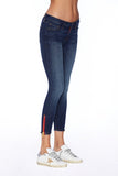 EM2012-MEDIUM WASH SIGNATURE SKINNY CROP PANT Denim - Etienne Marcel Denim