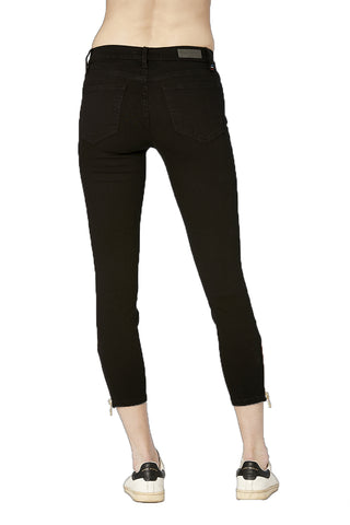EM2012-Black Signature Skinny Crop Pant Pants - Etienne Marcel Denim