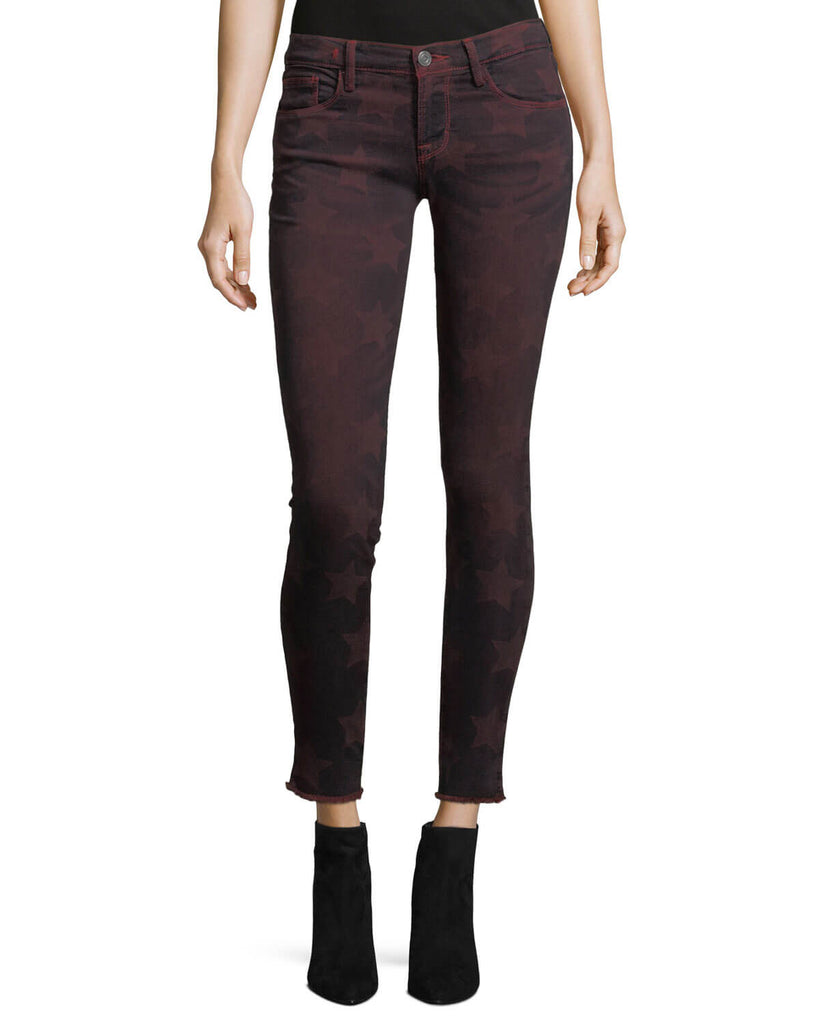 ROOS RED SKINNY WITH STARS EM7434  - Etienne Marcel Denim