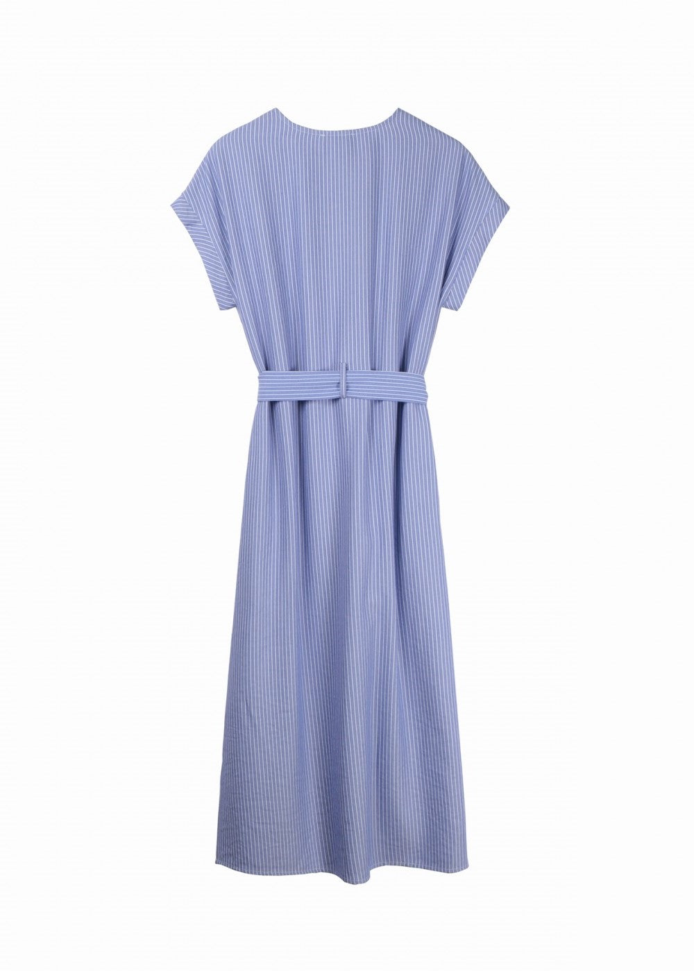 Andreze Double Button Midi Dress