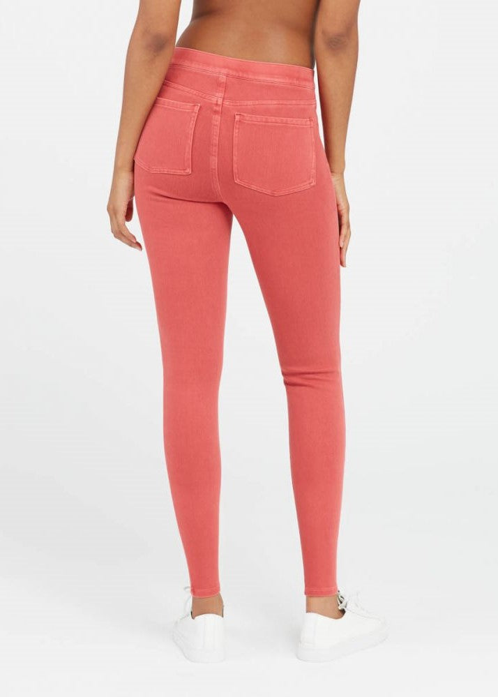 Nantucket Red Jeanish Ankle Leggings