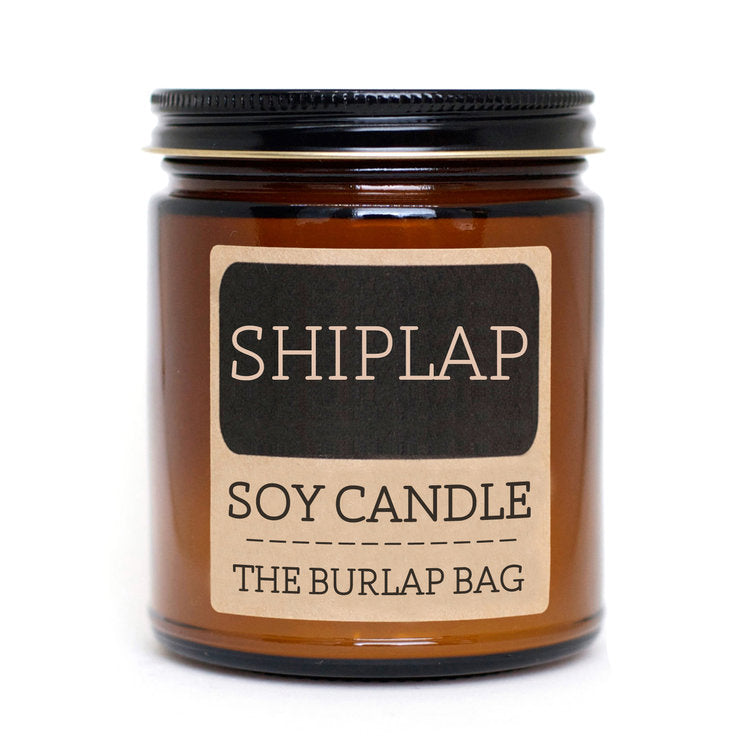 Burlap Soy Candles