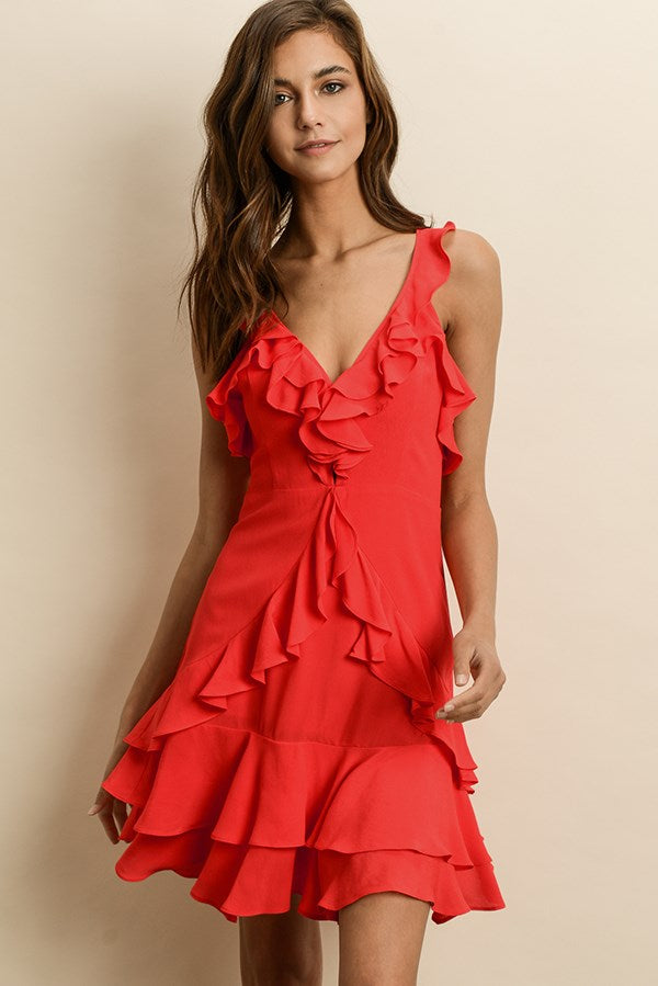 Ruffled Dress