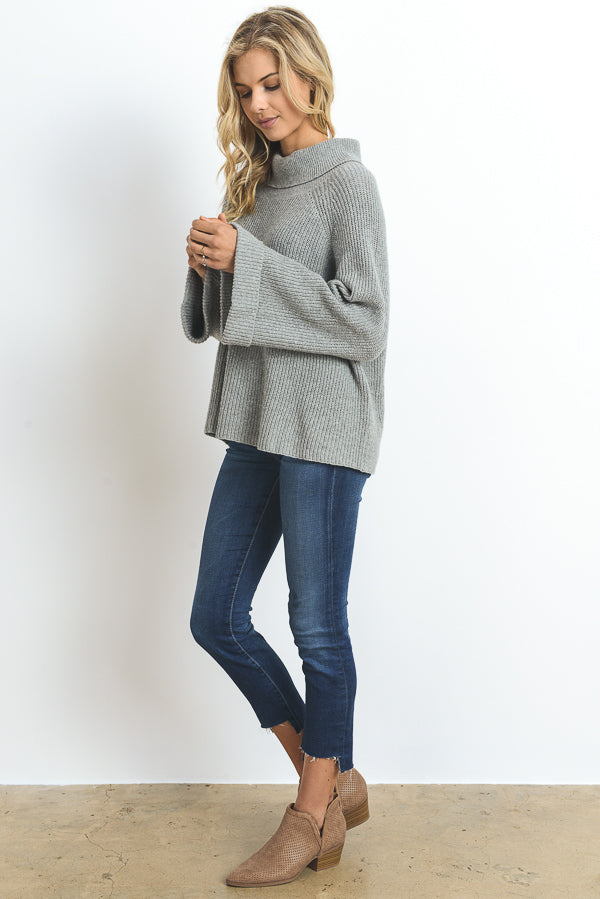 Bell Sleeve Sweater