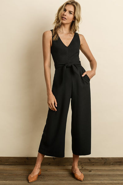 Cutout Wrap Jumpsuit