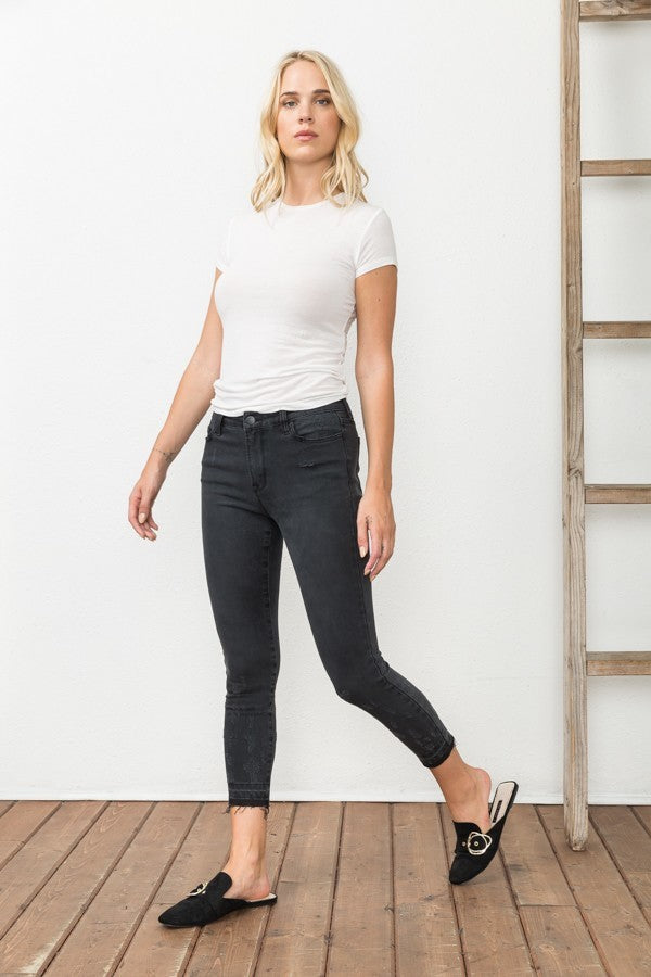 Black Premium Stretch Skinny Jeans