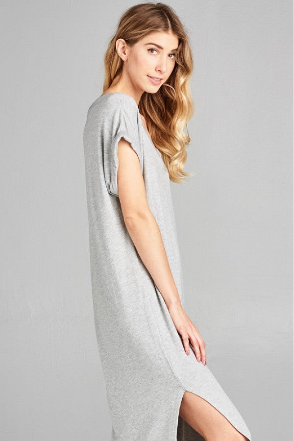 Everyday Butter Soft V-Neck Maxi