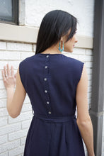 Load image into Gallery viewer, Armantine Back Button Dress