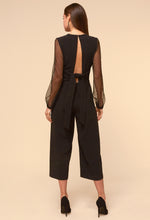 Load image into Gallery viewer, Alina Mesh Sleeve Jumpsuit