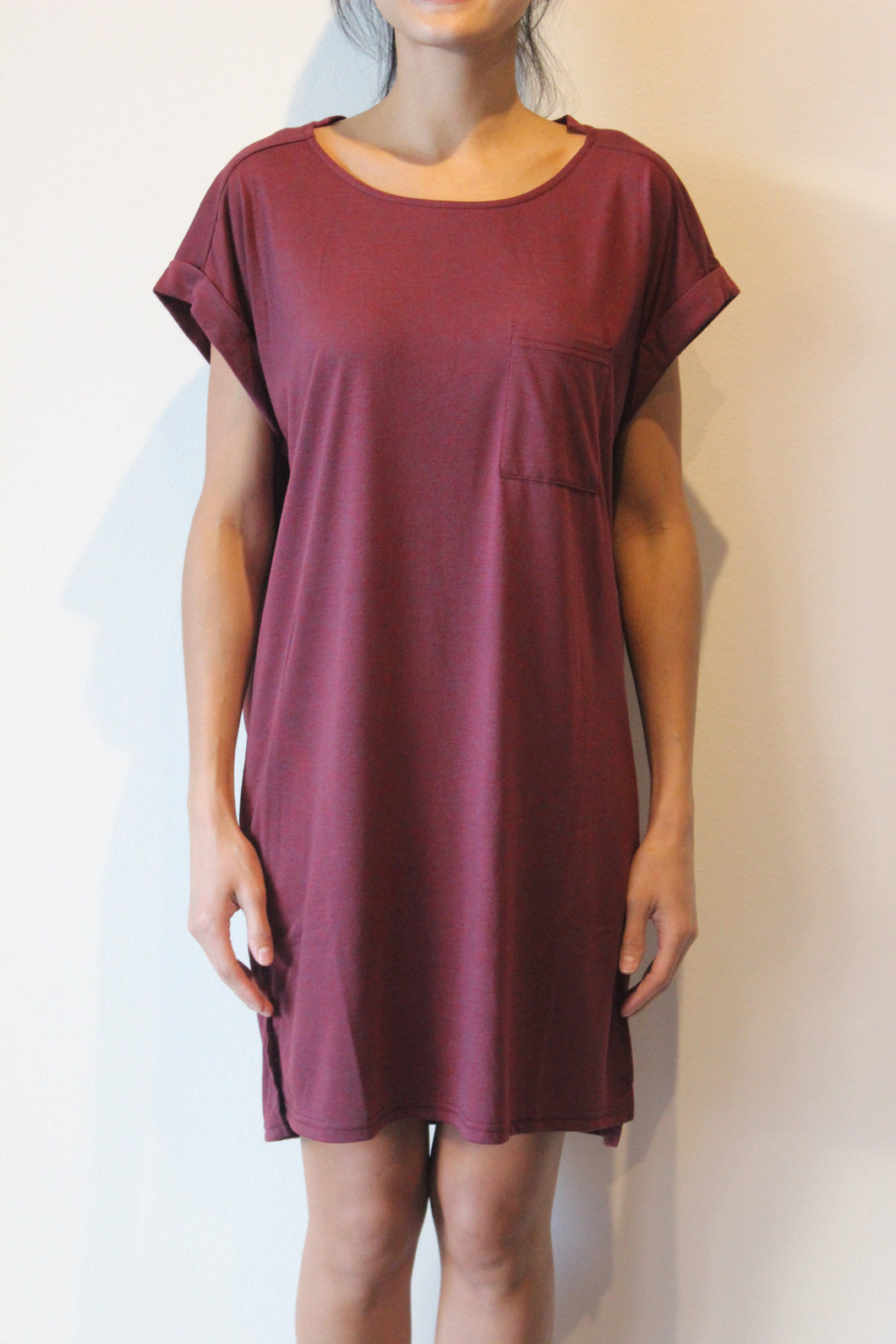 T-Shirt Dress with Pocket Detail