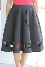 Load image into Gallery viewer, Scuba Flared Skirt