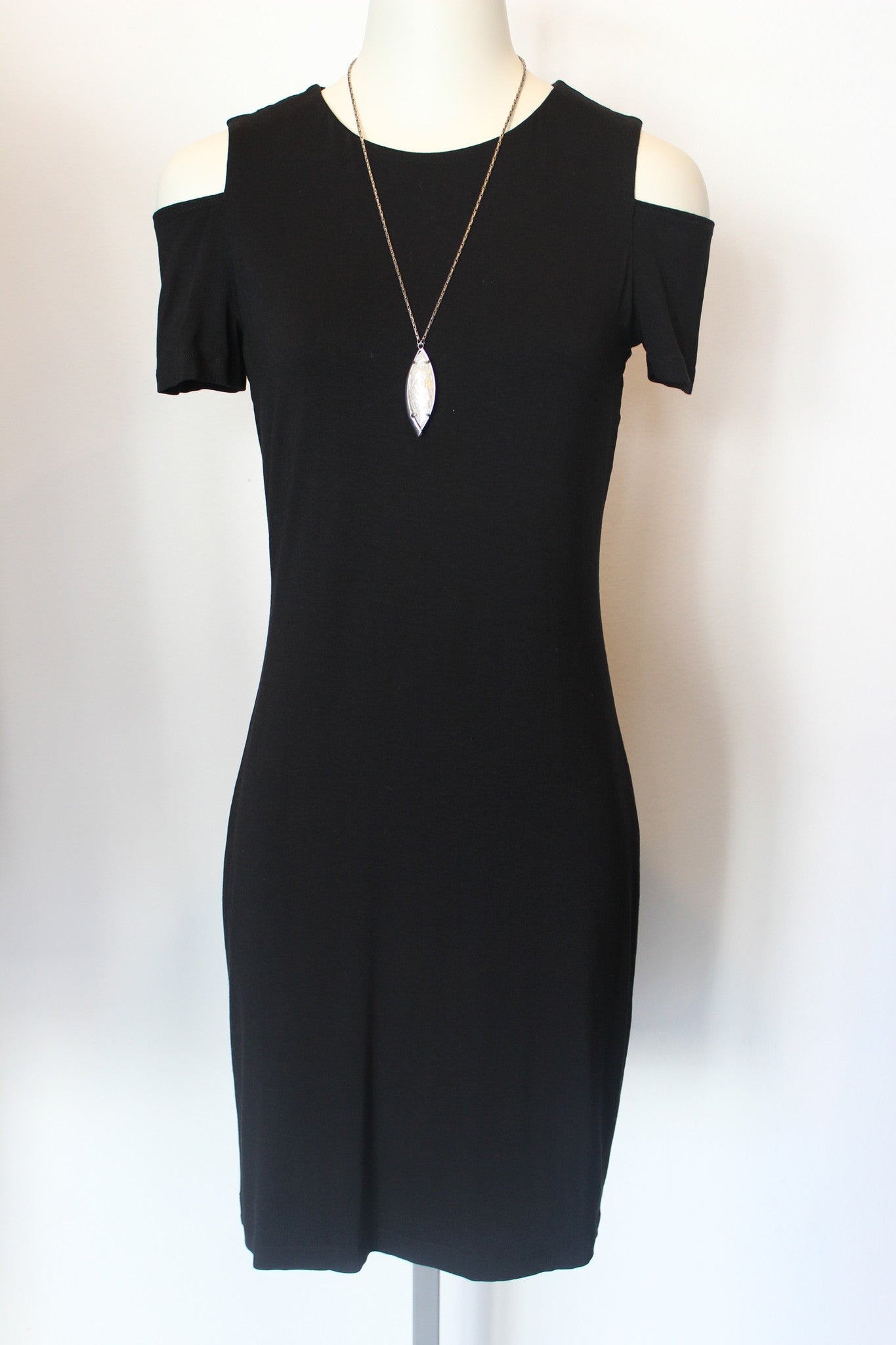 S/S Cold Shoulder Dress
