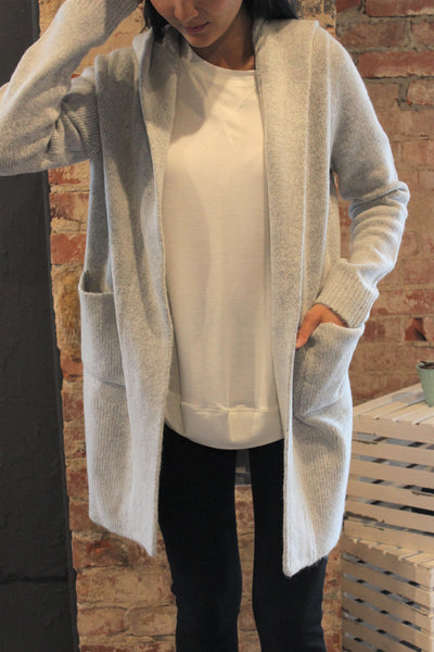Hooded Siberian Cardigan