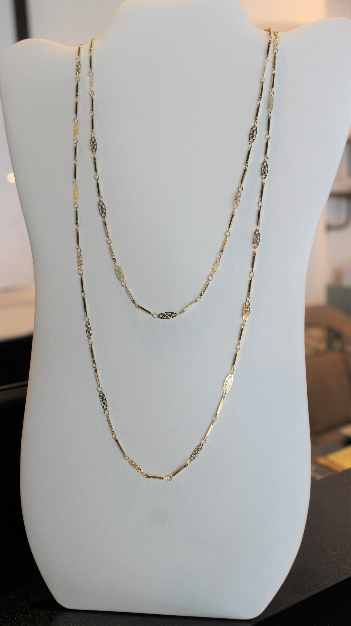 Double Layer Danity Necklace
