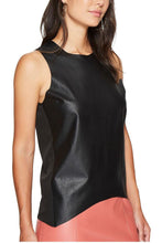 Load image into Gallery viewer, Paulina Faux Leather Tank