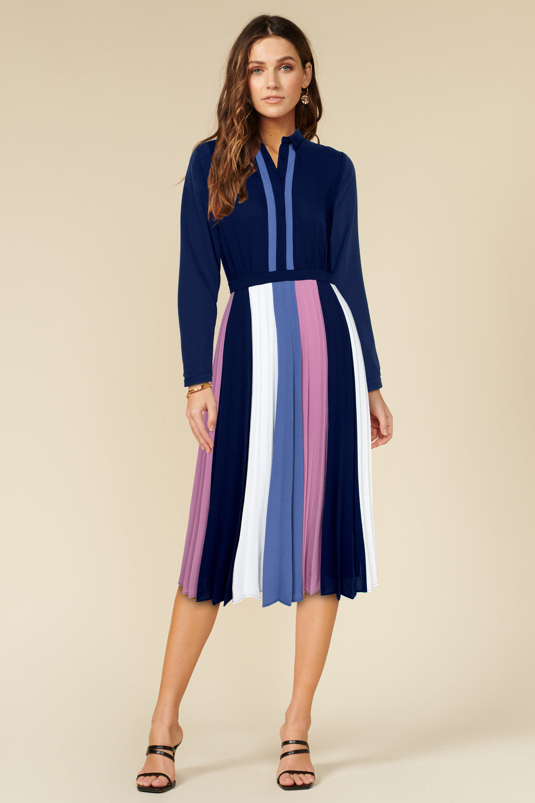 Lucia Pleated Dress
