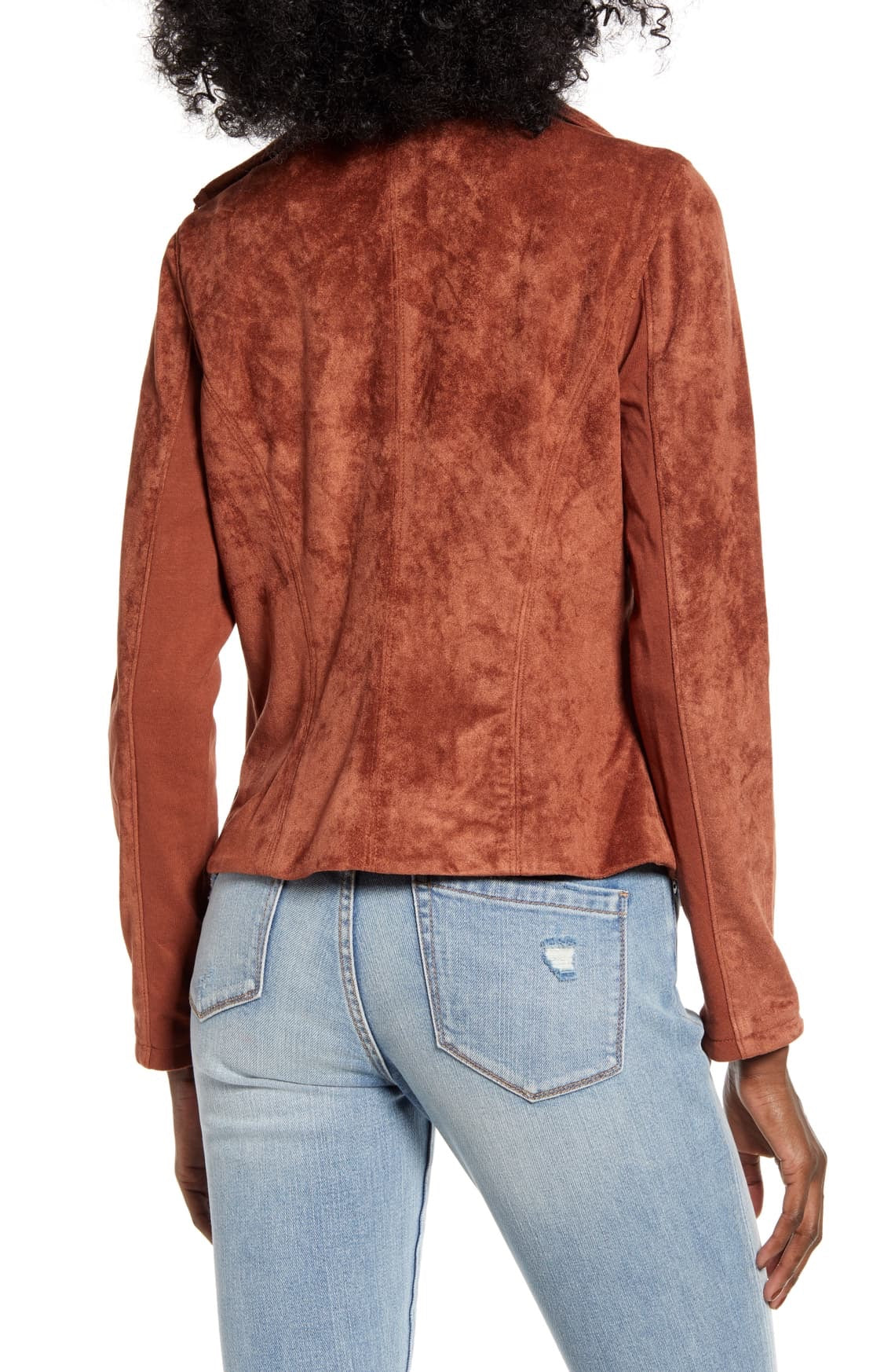 Amber Faux Suede Jacket