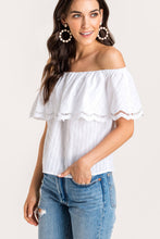 Load image into Gallery viewer, Off Shoulder Blouse