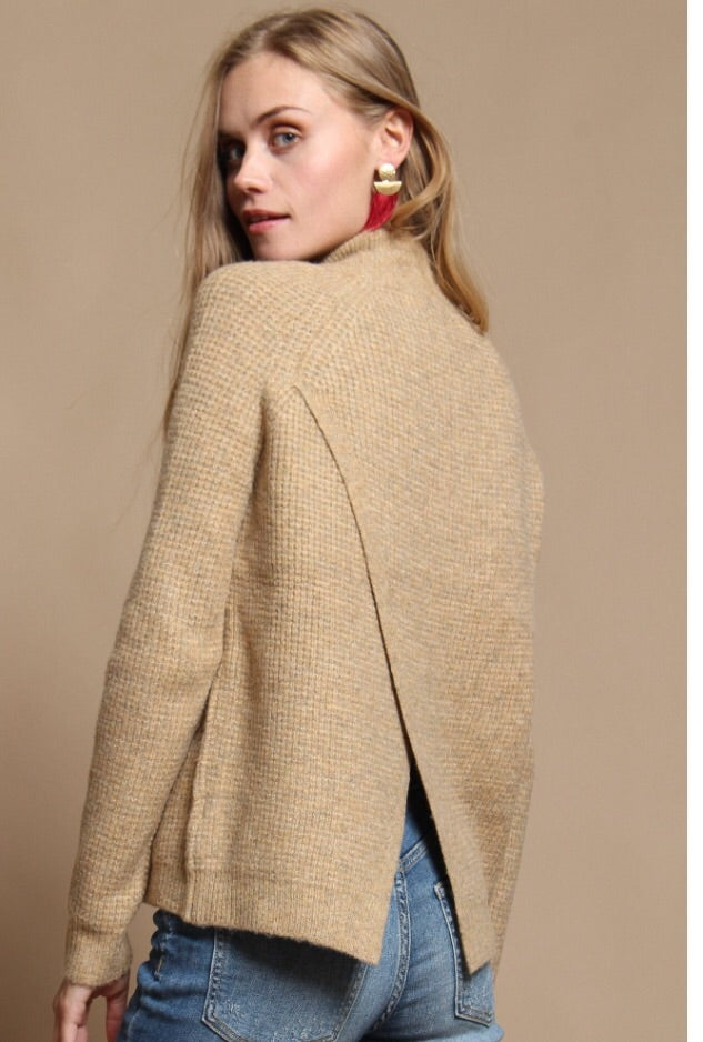 Atomic Tan Sweater