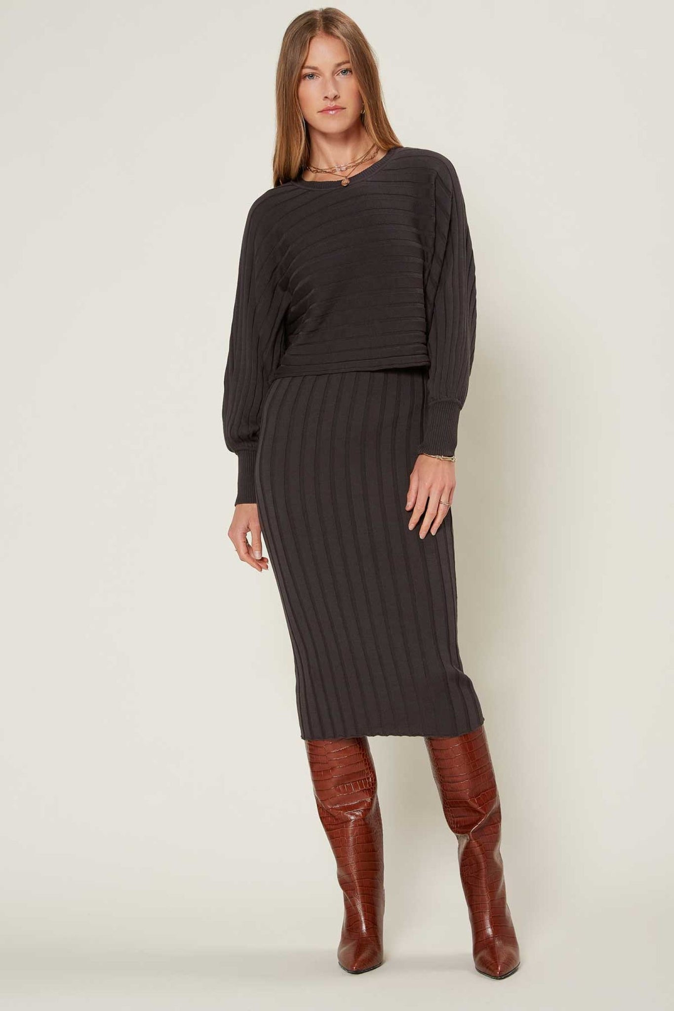 2fer Sweater Dress and Top Combo