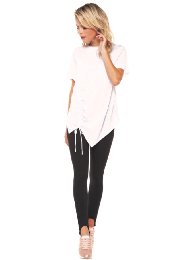 Side Cinched Tee