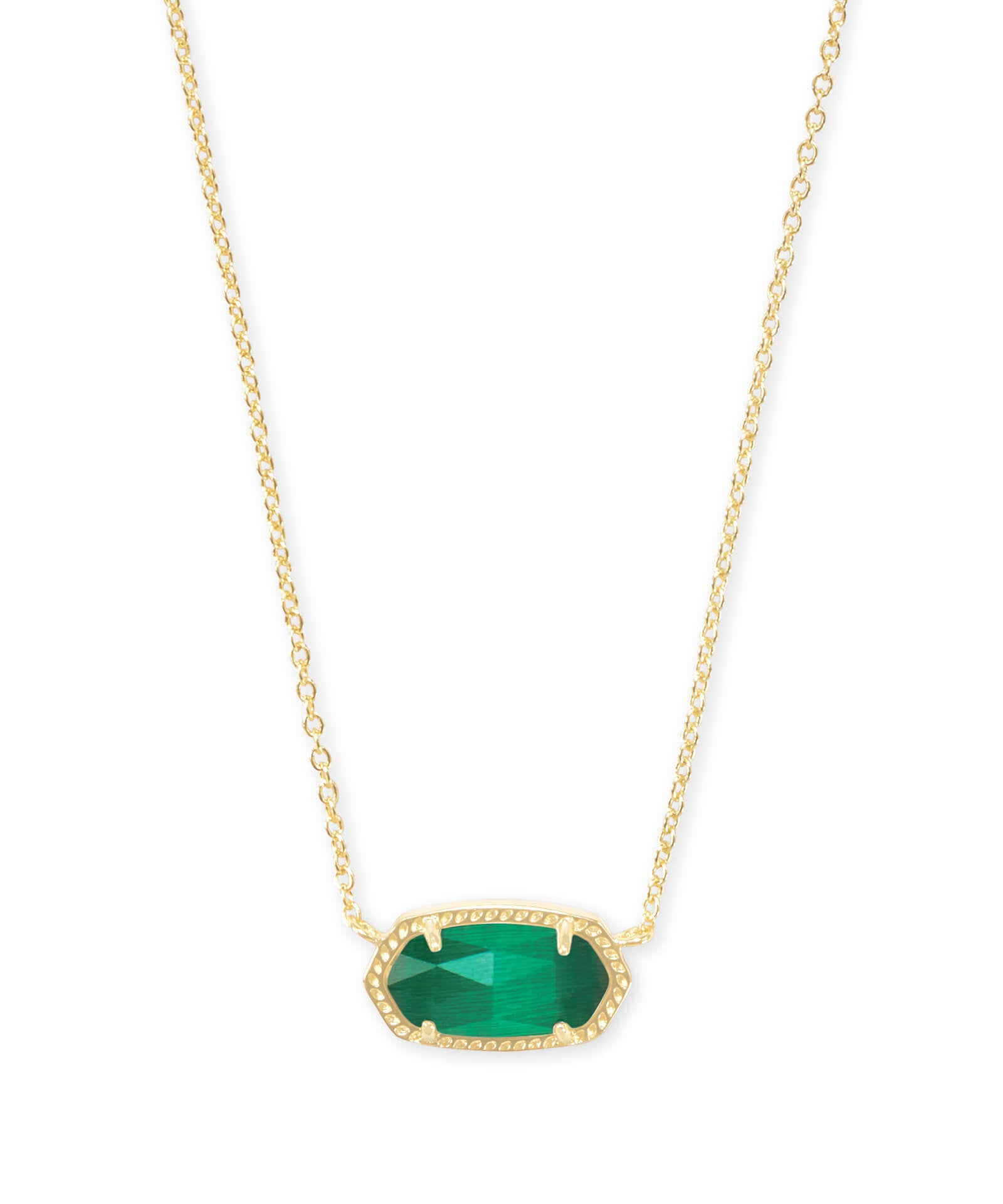 Elisa Necklace in Emerald