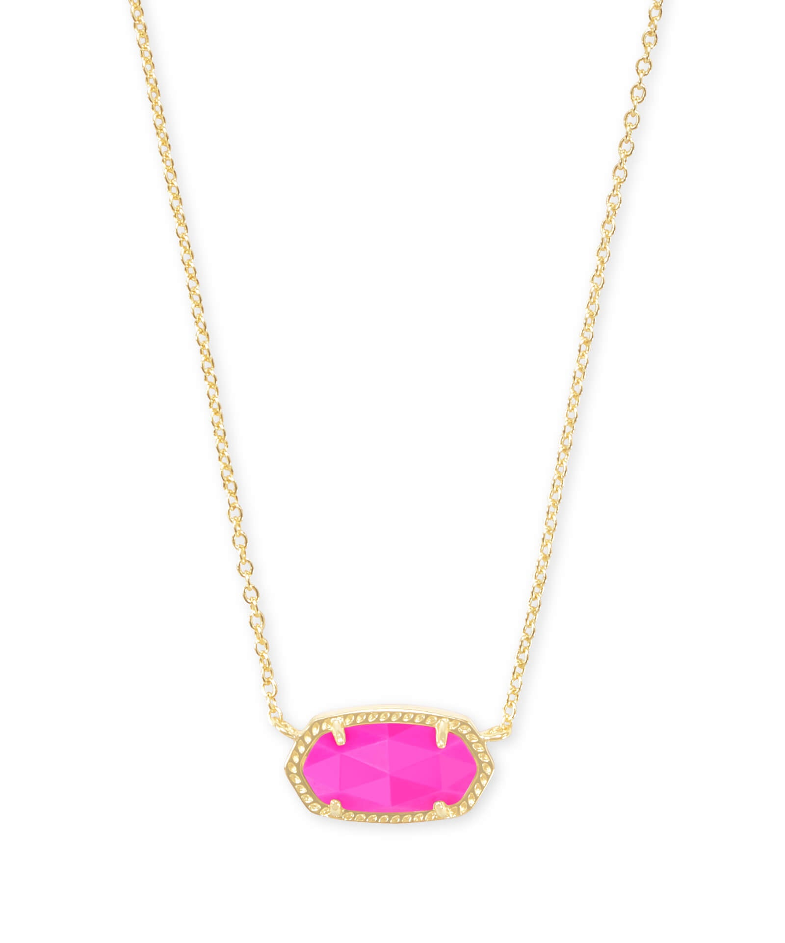 Elisa Necklace in Magenta Pink