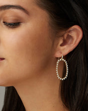 Load image into Gallery viewer, ELLE OPEN FRAME EARRINGS