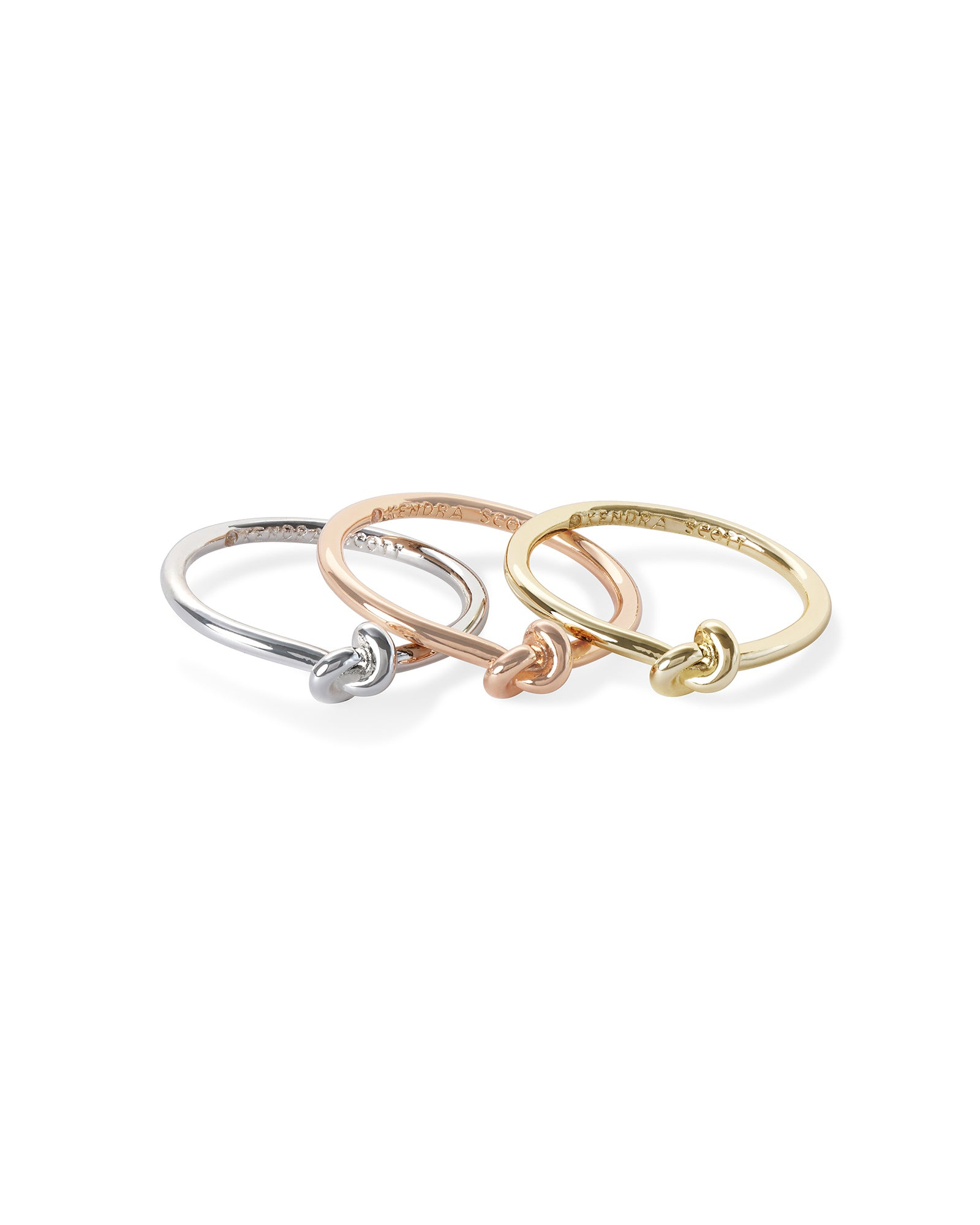Presleigh Ring Set Mixed Metal