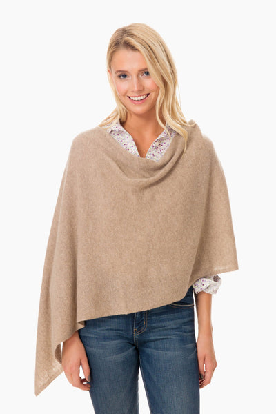 Cashmere Draped Topper