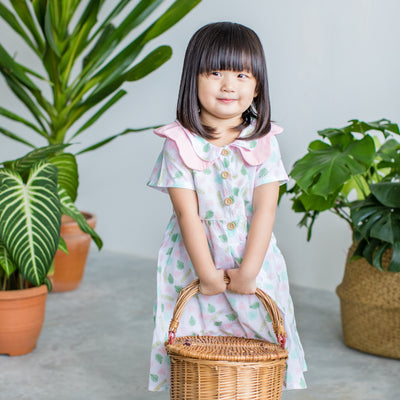 Botanics Flower Collar Dress