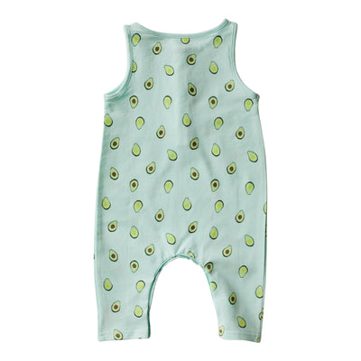 Avocado Long Romper