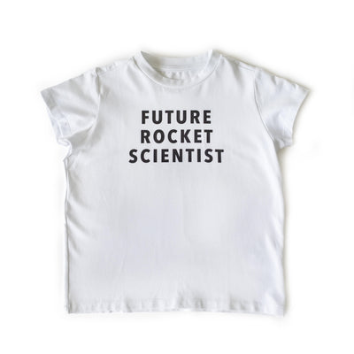 #FutureGirl Future Rocket Scientist Kids Tee