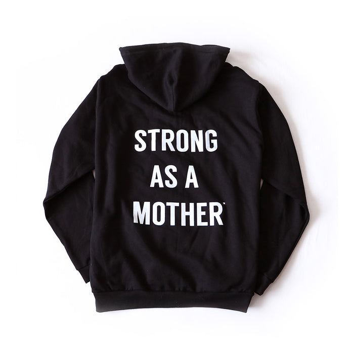 Black Women's Zip-Up Hoodie