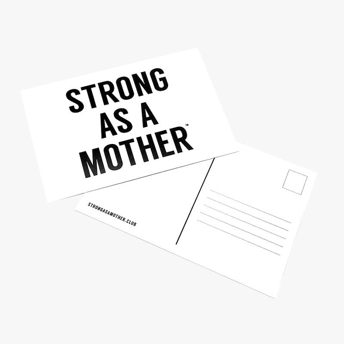 Strong as a Mother - Original Postcard