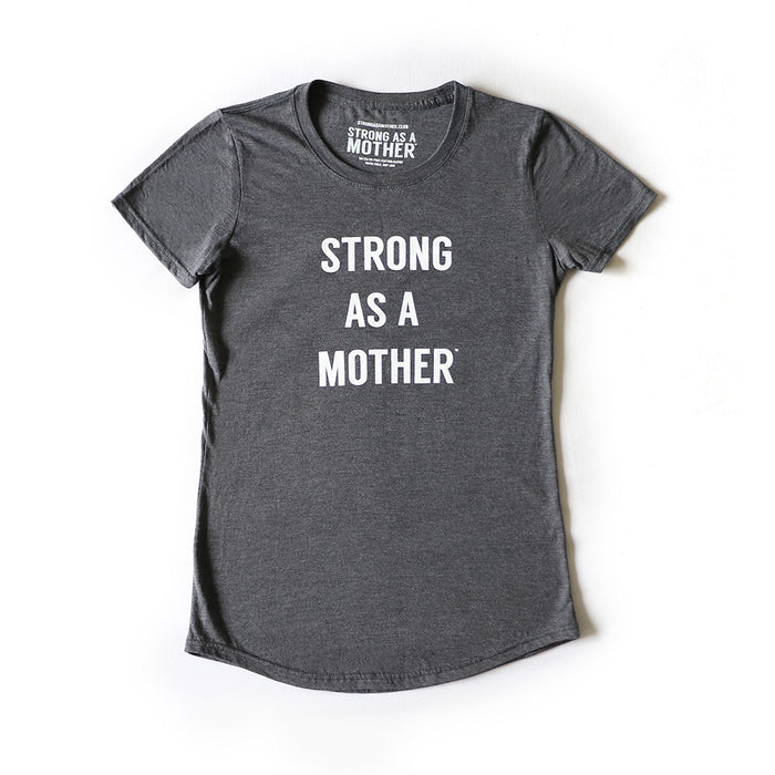 TEXT Women's T-Shirt - Dark Grey / White Smaller Text - LIMITED EDITION