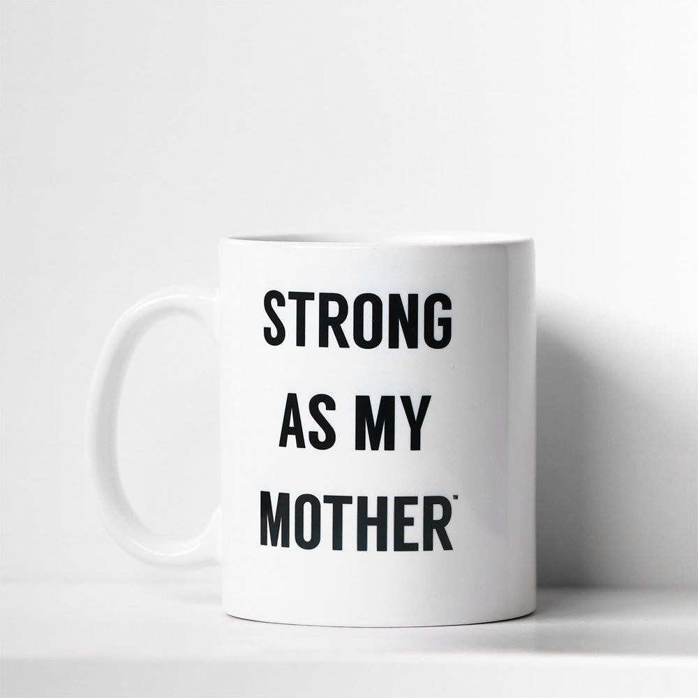 Strong as a Mother/Strong as my Mother Mug Set
