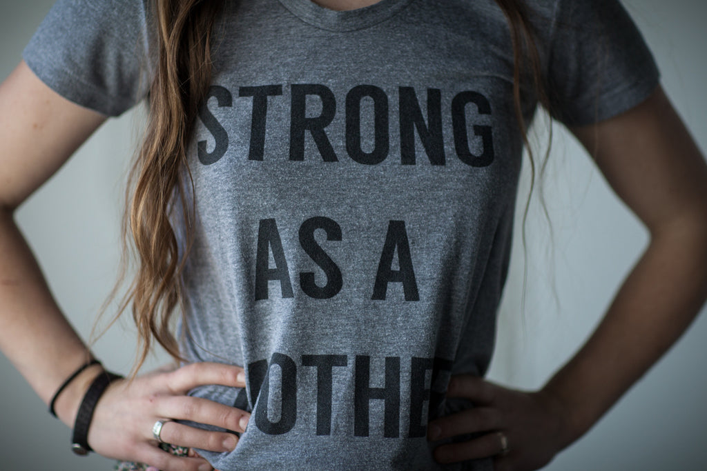 TEXT Women's T-Shirt - Light Grey / Black Text