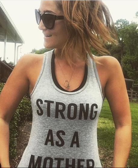 TEXT Women's Tank Top - Light Grey / Black Text