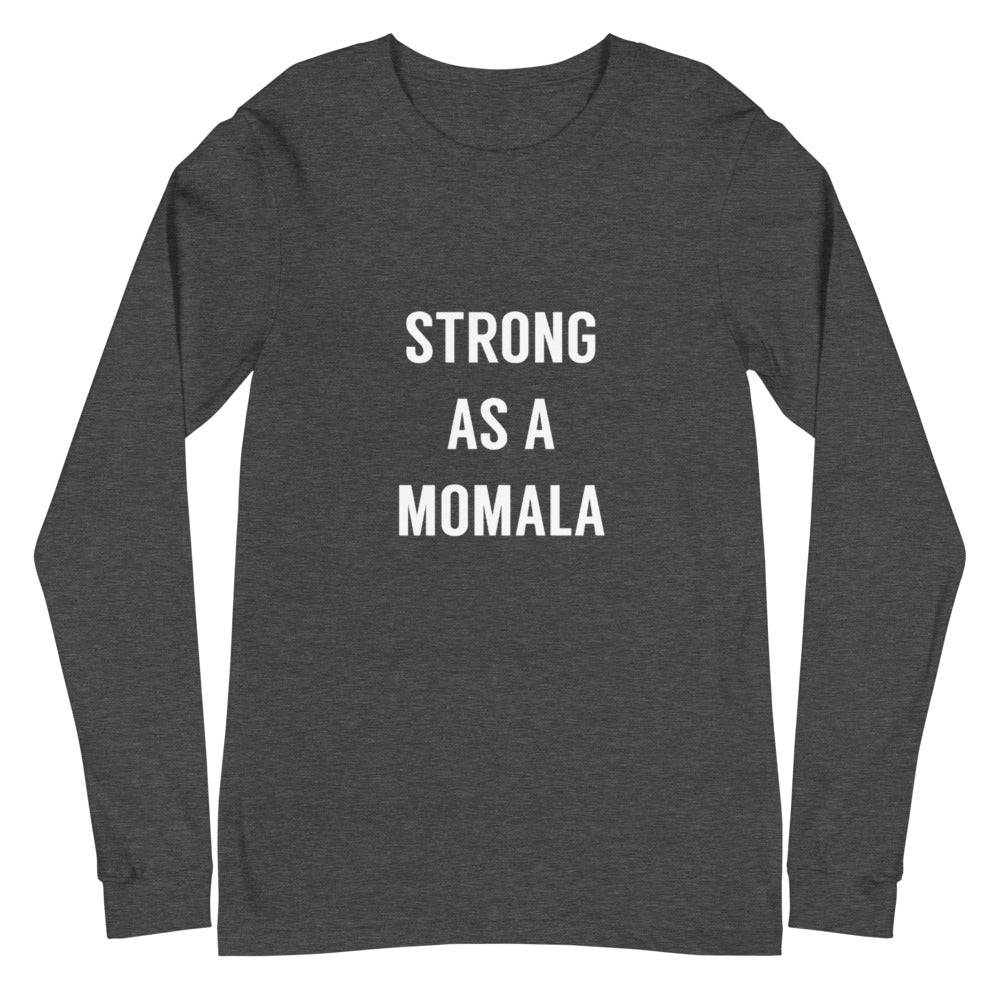 MOMALA Text Long Sleeve Tee