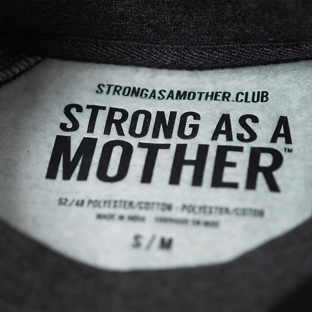 Strong As A Mother - Dark Grey Crewneck