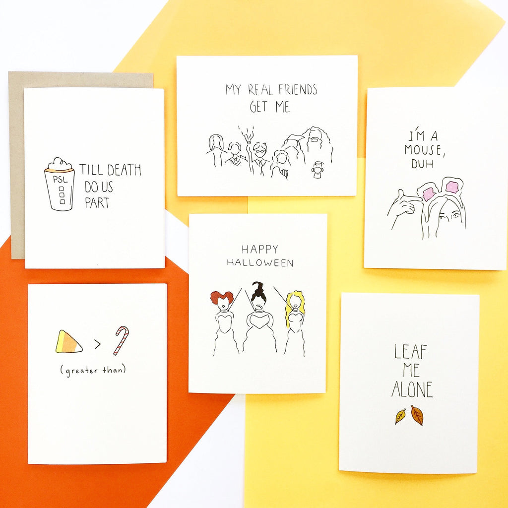 Funny Holiday Cards by Pop and Paper