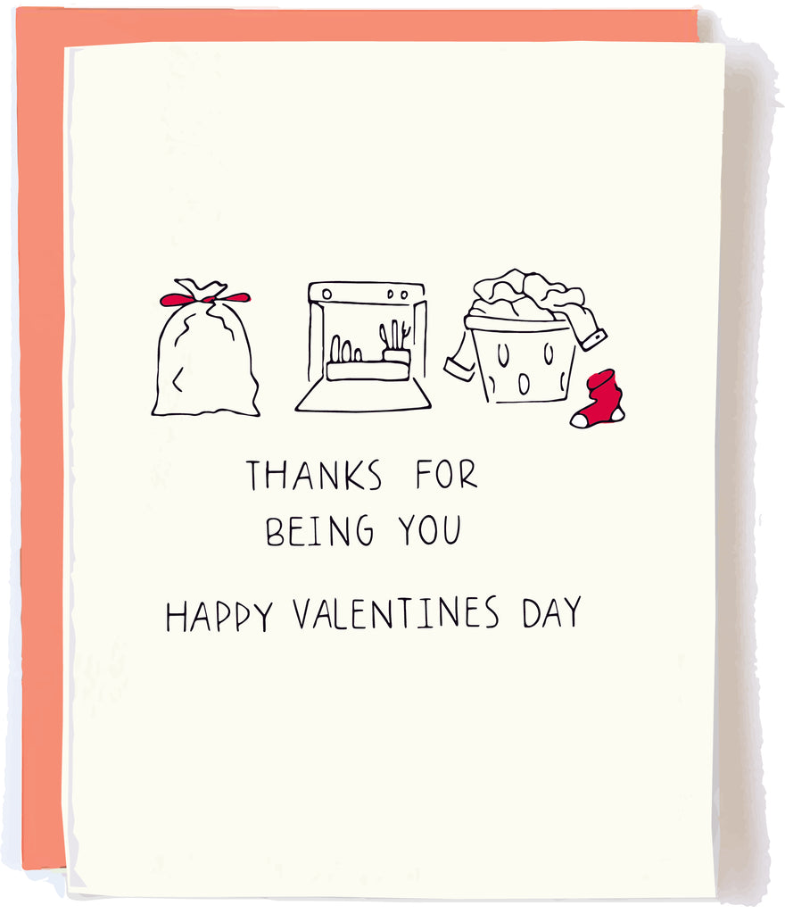 Funny Valentine's Day Card by Pop and Paper