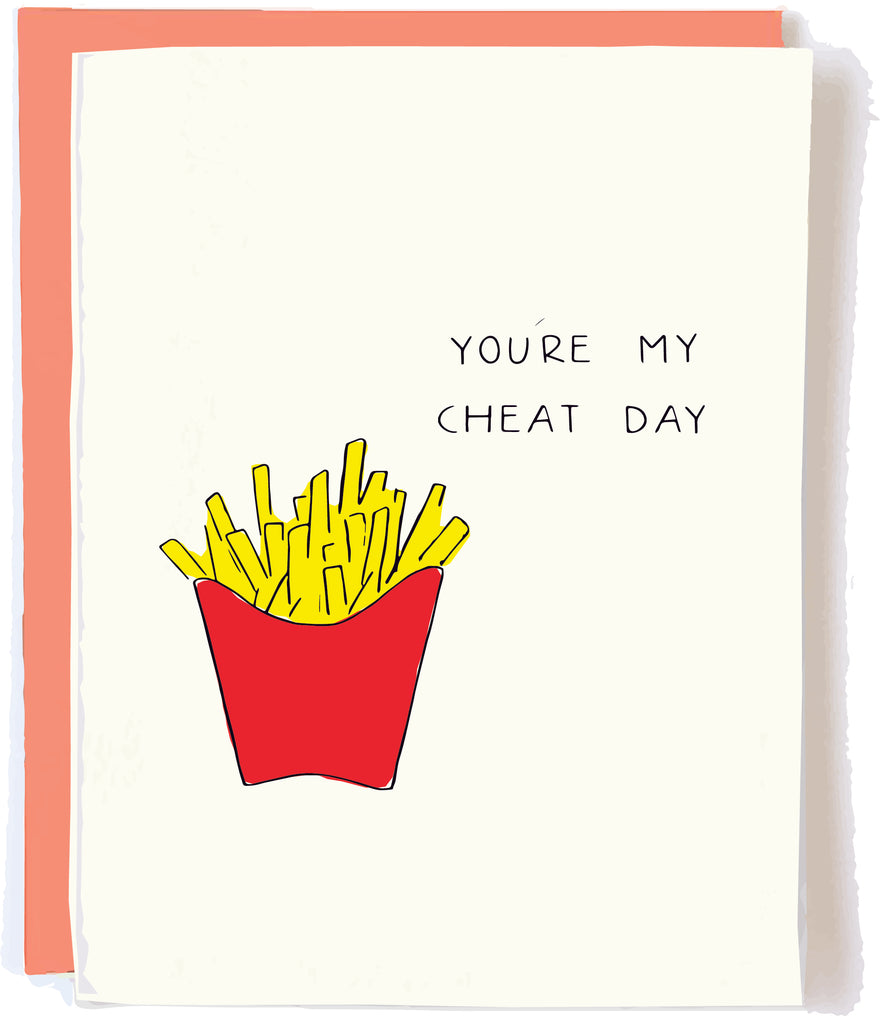 Cheat Day Love Card by Pop + Paper