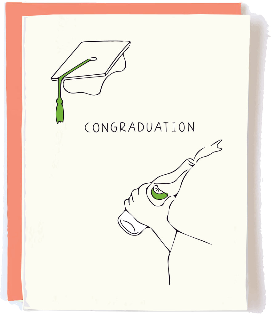 Graduation Card by pop and paper